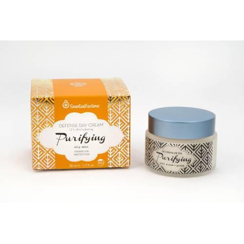 Crema Hidratante de Día Purifying 50 ml, de Esential'Aroms