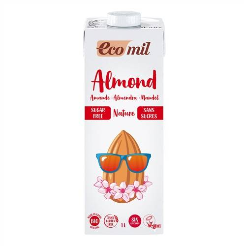 Leche de Almendra Sin Azúcar 1L de Ecomil
