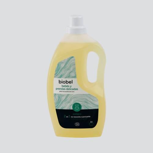 Detergente Lavadora Biobel Bebés y  prendas delicadas 1,5L