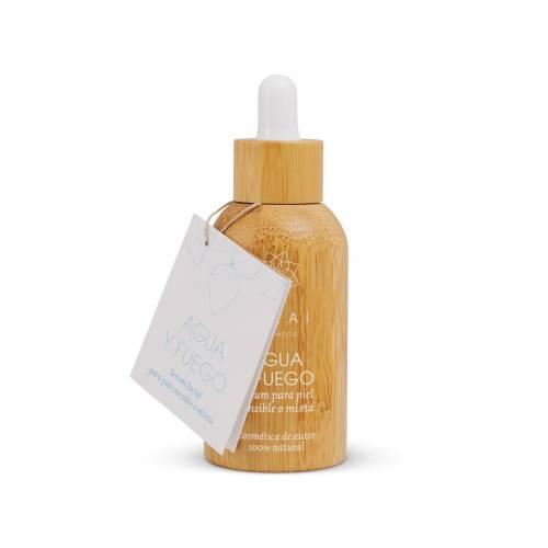 AGUA Y FUEGO: Sérum facial para piel sensible o mixta 30 ml
