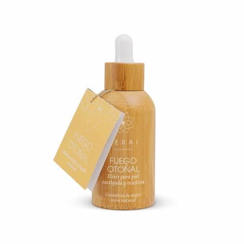 Fuego Otoñal: Elixir para piel castigada o reactiva 30 ml, de Terai