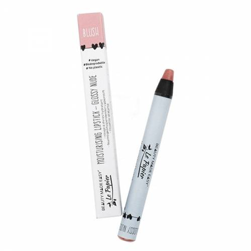 Balsamo labial Le papier Nude Blush 6g, de Beauty made easy