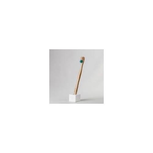 Cepillo dientes bambu verde, medio, de Banbu