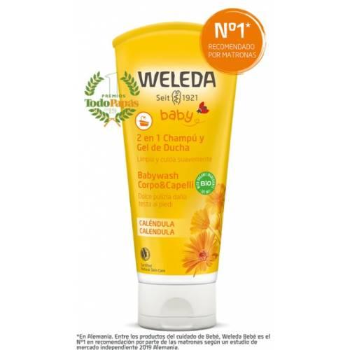 Gel-champú para bebés y niños 200ml, de Weleda