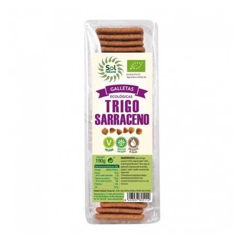 Galletas de trigo Sarraceno Bio, de Sol Natural