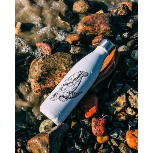 Botella térmica Tortuga colección Sealife 500ml, de CHILLY'S