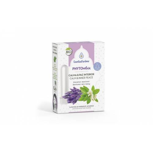 Aceite Phytorelax 5ml+ 2 inhaladores 5ml, de Esential'aroms