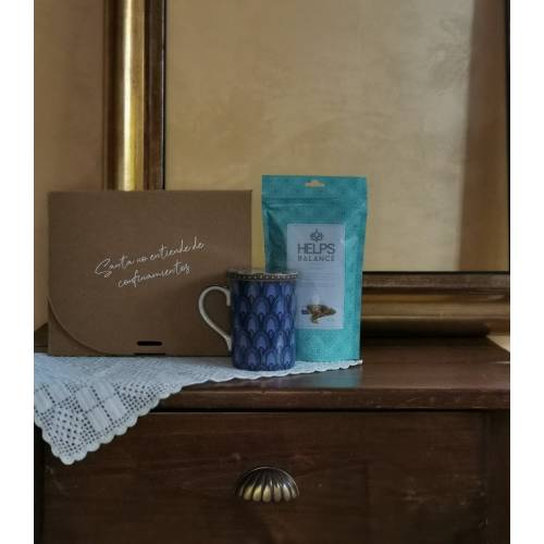 Pack Peace taza+infusion+caja+muestras