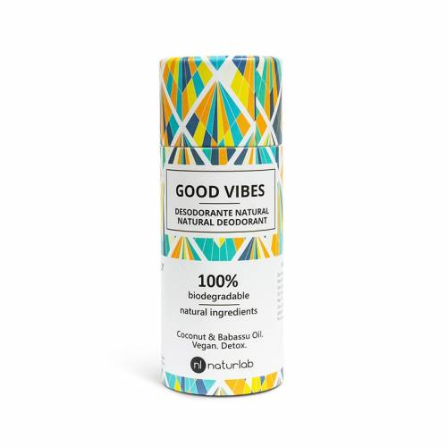 Desodorante 100% Natural  GOOD VIBES 60ml,  de Naturlab.