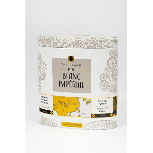 Té blanco orgánico Imperial Terredoc