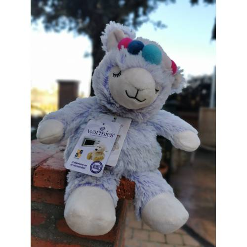 Peluche de semillas Calentable Llama lila, d Warmies