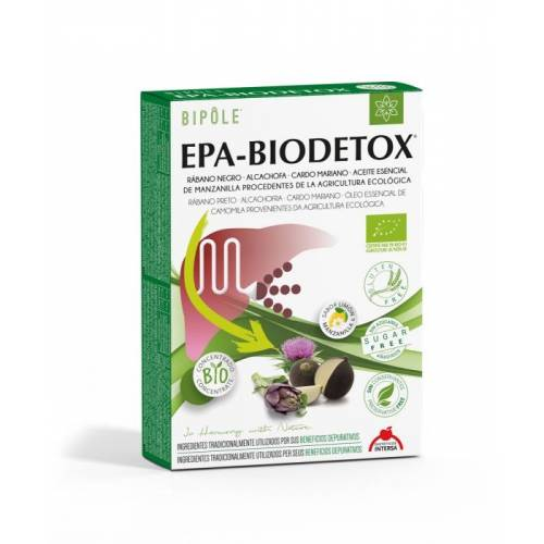 Epa-Biodetox BIPOLE ampollas, de Intersa