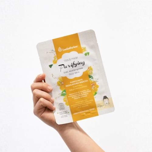Tissue Mask mascarilla Purifying piel mixta, de Esential'aroms