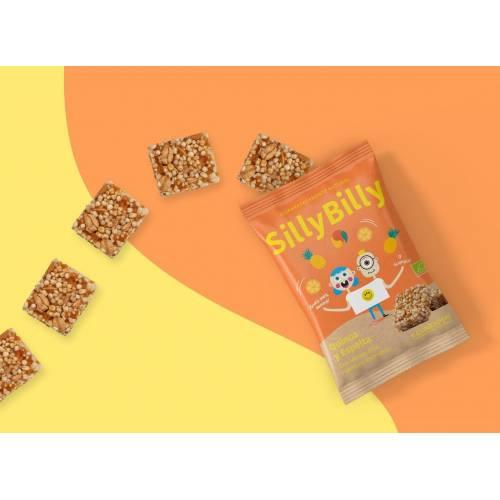 Snack ecológico de quinoa, espelta, mango, de SillyBilly