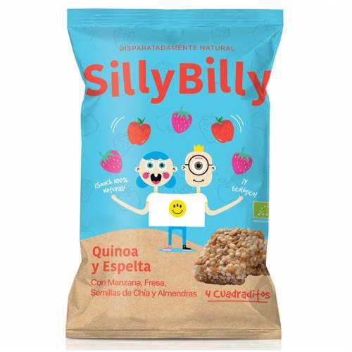 Snack ecológico de Quinoa,espelta y manzana, de SillyBilly