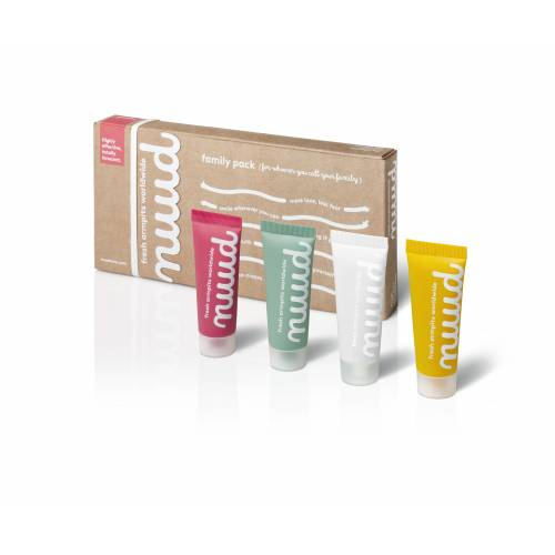 Desodorante tubo PAck 4 uds, de Nuud