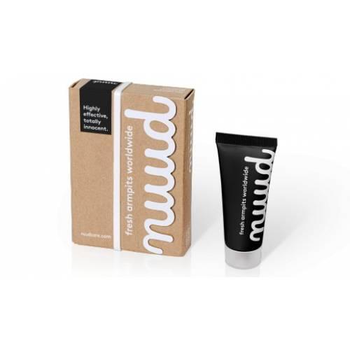 Desodorante tubo 20gr, de Nuud