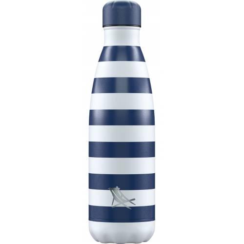 Botella térmica Navy 500ml, de CHILLY'S