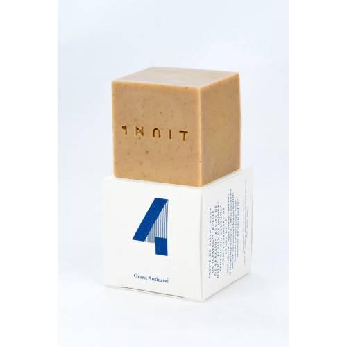Jabón facial piel grasa con acné INUIT 4
